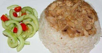 Resep Nasi Tim Nasi Tim Merupakan Masakan Khas Tionghoa Indonesia Yang Berujud Nasi Dan Daging Ayam Kukus Dengan Bumbu Guri Resep Nasi Makanan Rumahan Resep