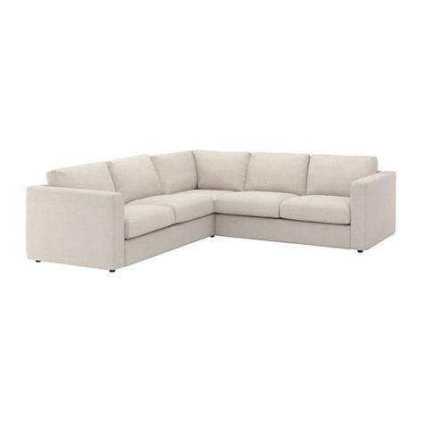 VIMLE Sectional, 4 Seat Corner   Gunnared Beige   IKEA