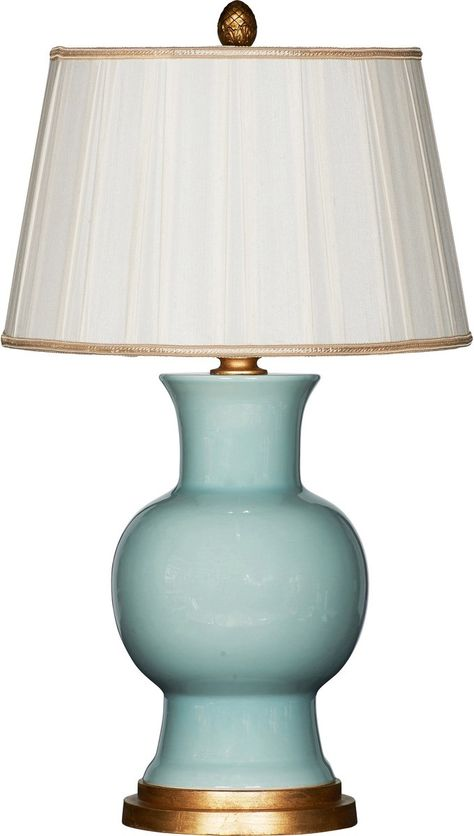 Empire candlestick lamp with marble center. Besselink and