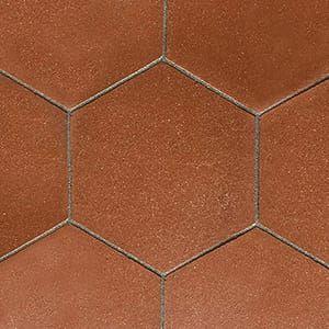 Hexagon Satin Terracotta Tiles 10 Inch Country Floors Of America Llc Terracotta Tiles Tuscan Tile Hexagon