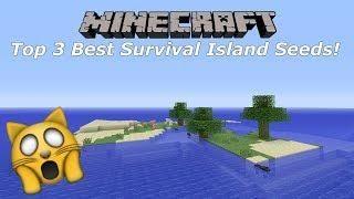 Minecraft Console Top 3 Best Survival Island Seeds