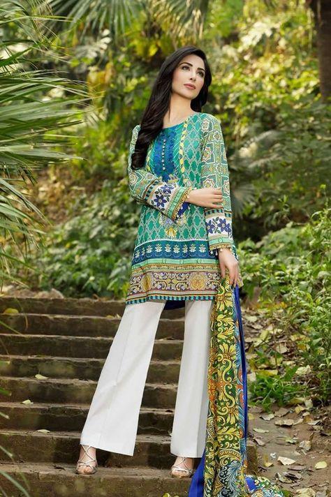 Kamal Lawn Shalwar Kameez Dresses By So Kamal 2016
