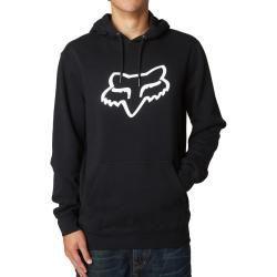 FOX KAPUZENPULLOVER LEGACY FOXHEAD schwarz schwarz Sweater