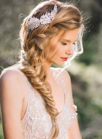 Coiffure Boheme Chic Mariage Boho Bridal Hair Wedding Hairstyles Bridal Braids