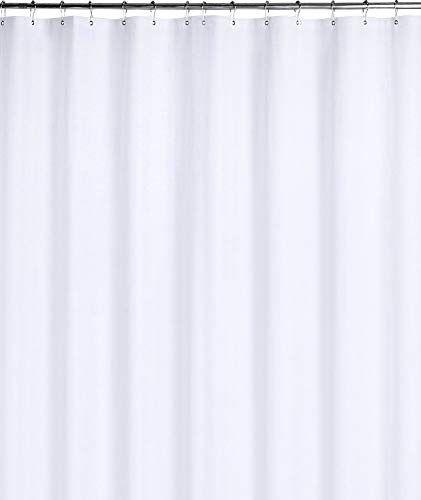 Utopia Bedding Peva Shower Curtain Liner Mildew Resistant White 72