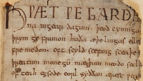 Hear Beowulf read in the original Old English