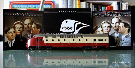 Kraftwerk: Trans-Europe Express (ein) | Kraftwerk - Trans-Europe Express (remastered) (2009) | Kraftwerk - Trans-Europe Express (1987) | Kraftwerk - Trans-Europe Express CDEP (1990) | Trans-Europe Express Scale model train (locomotive) | ©japanese forms