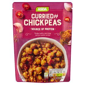 Asda Curried Chickpeas Undefined Food Online Food Shopping Dog