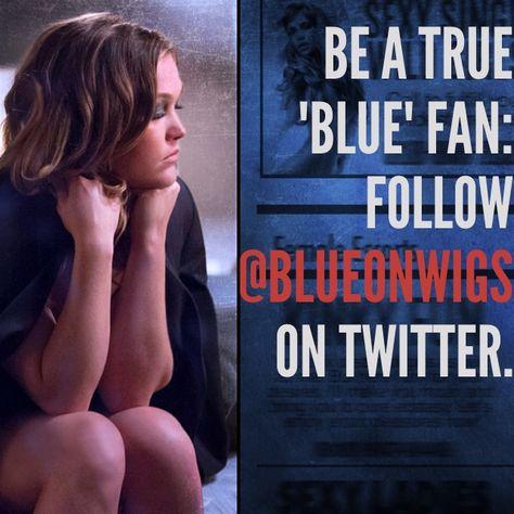 Are you following Blue on Twitter yet? #BlueonWIGS #watchwigs www.youtube.com/wigs