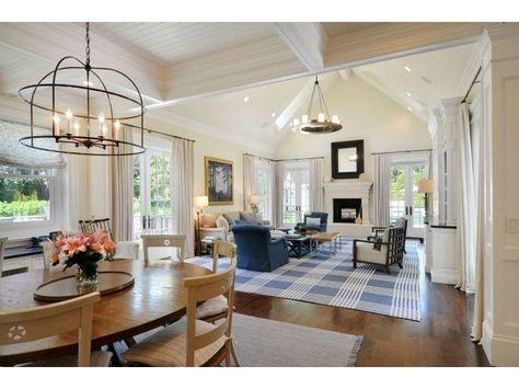 Get a look at that one-of-a-kind light fixture over the dining table. Atherton, CA Coldwell Banker Residential Brokerage $18,900,000