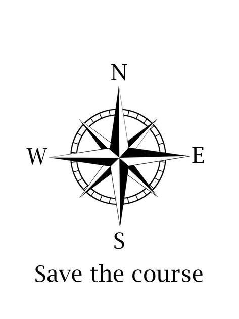 probably my next tattoo. Compass, Save the course What do you think ? -  #