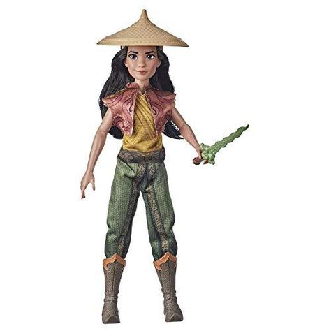Disney Raya and The Last Dragon Raya's Adventure Styles, Fashion Doll with Clothes, Shoes, and Sword Accessory, Toy for Kids 3 Years and Up - Default