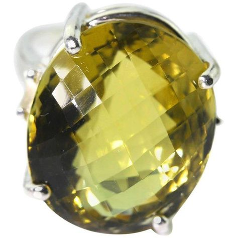 Good Gemstones Round cabochon Citrine Ring wholesales Jewelry Gift for Mothers Day Wave 925 Silver Yellow Citrine Good Gemstones Ring