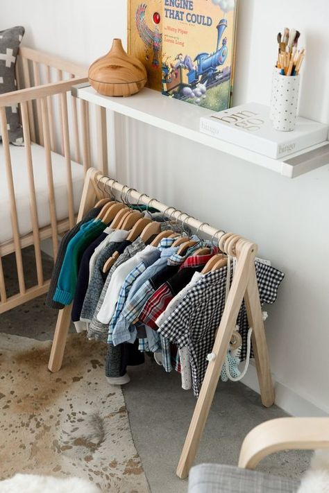 Dwelling Style Floor Strategy - How To Purchase A Home Layout Flooring Approach? This Couple And Their Young Son Live In An Expensively Decorated Home. Marcus And Alicia Furnished Their Whole Apartment For Under They Attribute Their Savings To Shoppi Baby Bedroom, Baby Room Decor, Kids Bedroom, Bedroom Decor, Budget Bedroom, Bedroom Storage, Master Bedroom, Montessori Bedroom, Montessori Baby