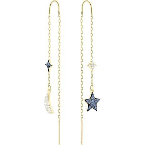 Star connecté Argent Chaîne Boucle d/'oreille Fashion Jewelry Femmes Sterling Cadeau Mariage