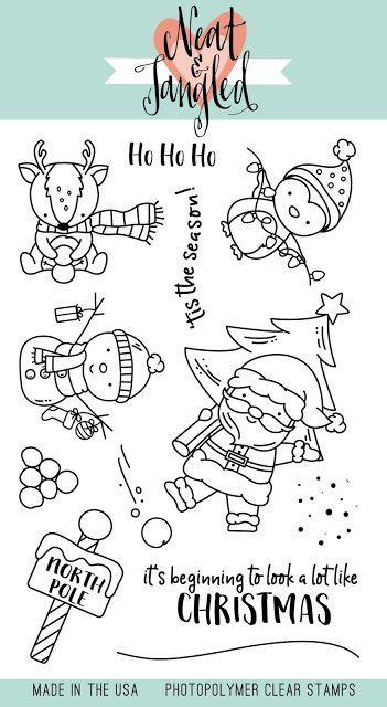 Veroffentlichungstag 1 Im November 2019 Santa39s Wonderland Merry And Bright Weihnachten Zeichnung Aufkleber Selber Drucken Weihnachtsmalvorlagen