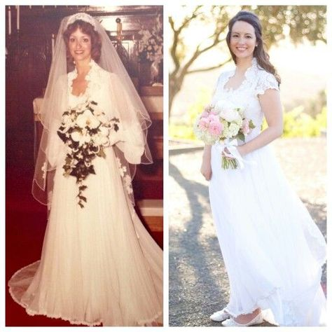 7 Ways to Redesign a Vintage Wedding Gown