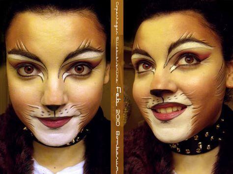 Copenhagen Jemima Sillabub Makeup Animal Makeup Lion Makeup Makeup