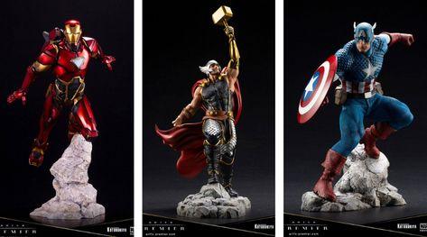 Kotobukiya Marvel Figürchen Artfx Captain America