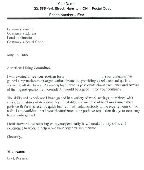 Cover Letter Template Government Of Canada Cover Letter Tips