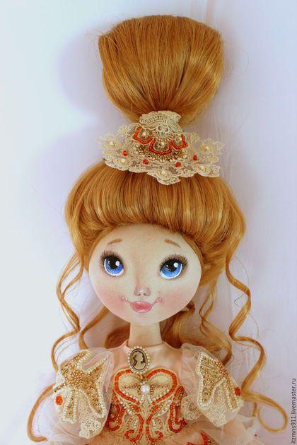 Fabric Doll коллекционные куклы ручной работы