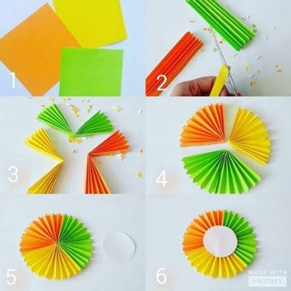 Contoh Hiasan Mading Dari Kertas Origami Materi Pelajaran 10