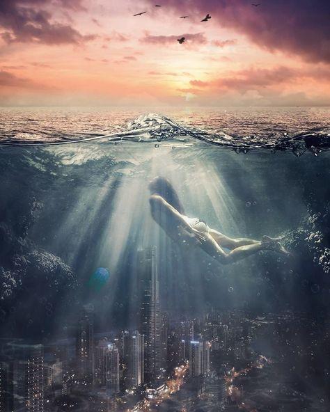 Artist of the Week | Underwater Photo Animation by Plotaverse