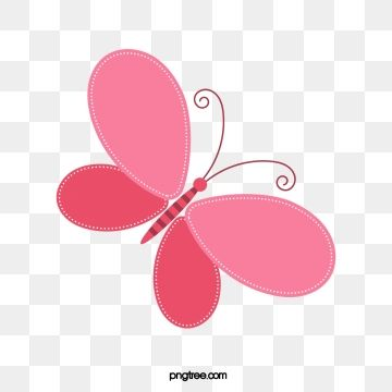Pink Butterfly Pink Butterfly Hand Painted Cartoon Png And Vector Cartoon Butterfly Butterfly Clip Art Butterfly Painting