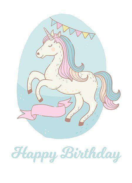 Einhorn Einladungen Karten Zum Ausdrucken Geburtstagskarten