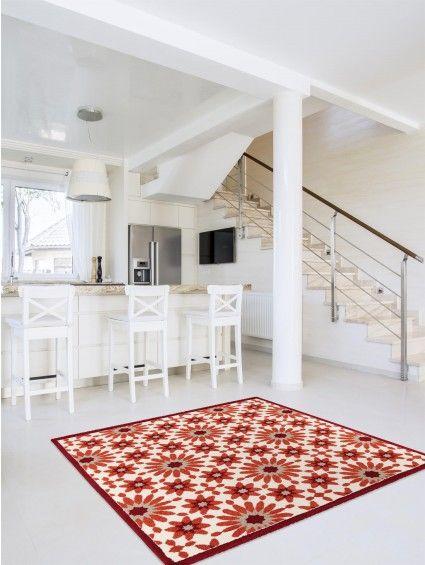 Teppich Gazania Orange 200x200 cm Teppiche Pinterest - teppich für küche