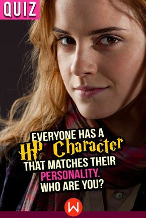Everyone Has A HP Character That Matches Their Personality