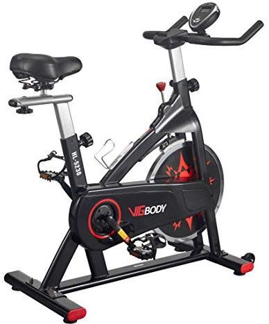 Vigbody Exercise Bike Indoor Cycling Bike Peloton Bicycle For Home Gym Workout Fitness Equipment Stationary Tra Biking Workout Indoor Bike Workouts Indoor Bike