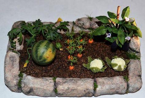 T 1:12th plantas Miniaturas Casa de Muñecas en Miniatura Accesorio De Jardín