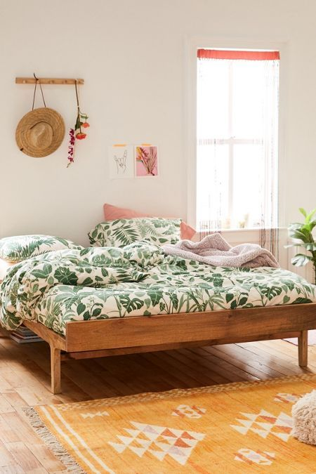Bohemian Platform Bed Minimalist Bed Bed Frame Simple Bed