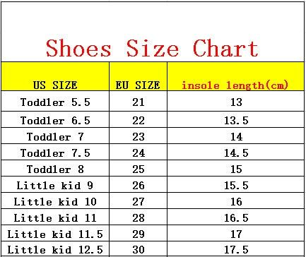 size 11 child in eu
