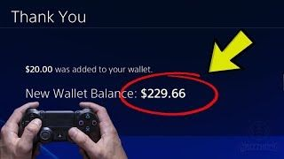 0fecd7f908bb4ad25891f1fe8c71fd34 - How To Get Free Money In Your Ps4 Wallet