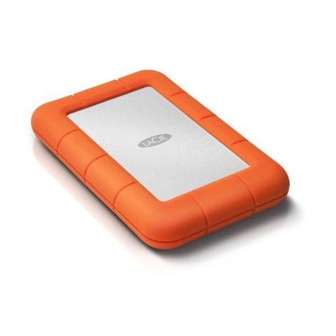 Lacie Rugged Mini 1tb Usb 3 0 Portable External Hard Drive Lac301558 Portable Hard Drives