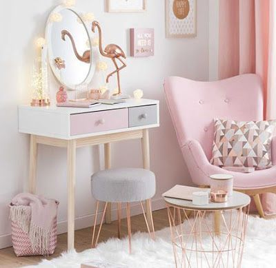 Small Dressing Table Design For Bedroom Of Women Girly Bedroom