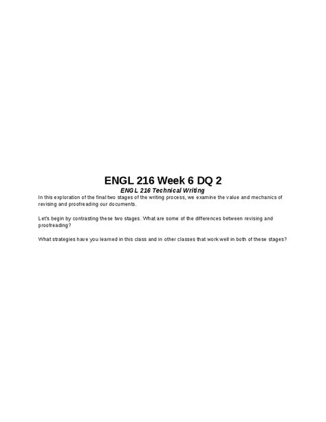 ENGL 216 Week 7 Final Report ENGL 216 Technical Writing   Technical Writer  Cover Letter  Technical Writer Cover Letter
