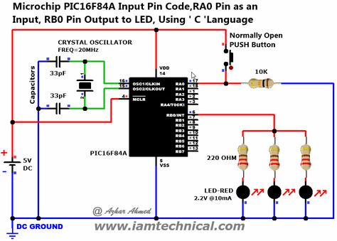 Microchip PIC16F84A Input Pin Code,RA0 Pin as an Input, RB0 Pin - intel component design engineer sample resume