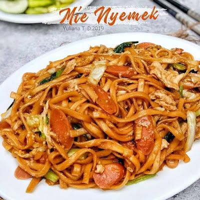 Mie Nyemek Resep Masakan Resep Masakan Indonesia Masakan Simpel