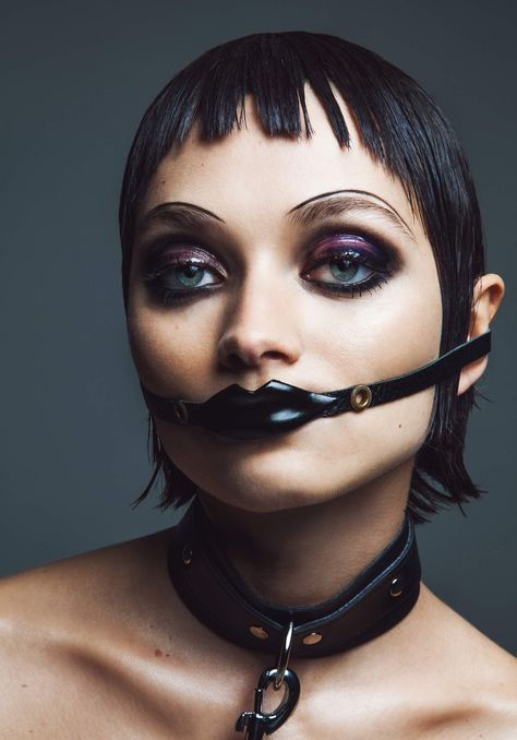Taking inspiration from legendary fetish club Torture Garden's 25th anniversary this weekend, Hunger beauty editor-at-large Andrew Gallimore and photographer Louie Banks have teamed up to recreate
