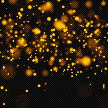 Golden Bokeh Light Effect Bokeh Background Overlay Png Transparent Clipart Image And Psd File For Free Download Light Effect Bokeh Lights Overlays Transparent