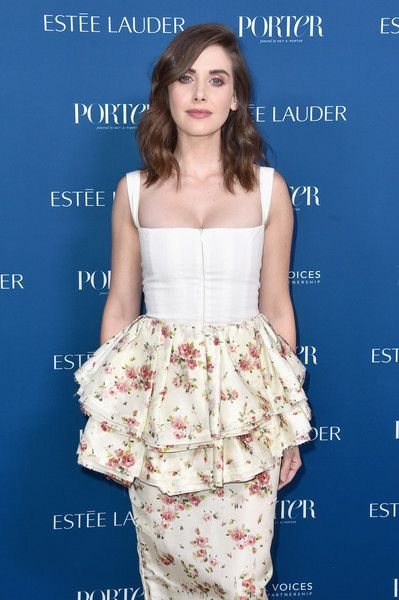 Alison Brie attends PORTER's Third Annual Incredible Women Gala at The Ebell of Los Angeles.