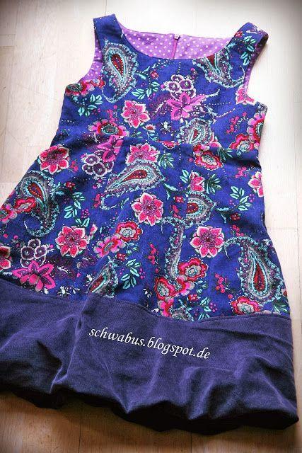 Kleid Cord Ottobre Gr 134