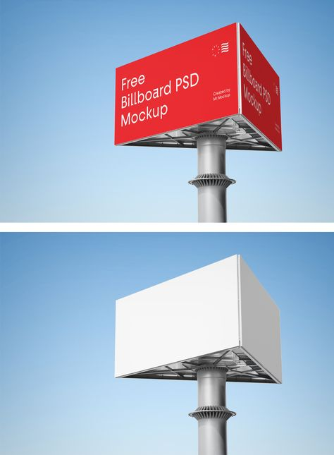 Advertising Billboard Mockup — Mr.Mockup | Graphic Design Freebies