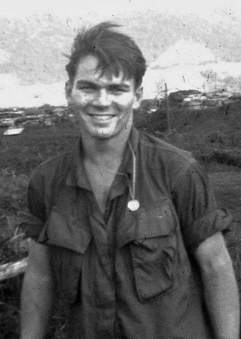 The late Dan Horton, gunfighter and BRAVO! Marine. BRAVO! COMMON MEN, UNCOMMON VALOR @ http://bravotheproject.com/. #BRAVO! #USMC #KheSanh #VietnamWar