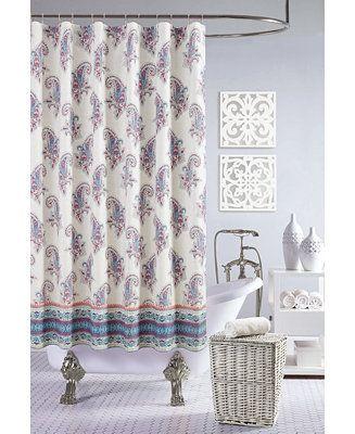 Shop Jessica Simpson Gemma Shower Curtain 100 Cotton Online At