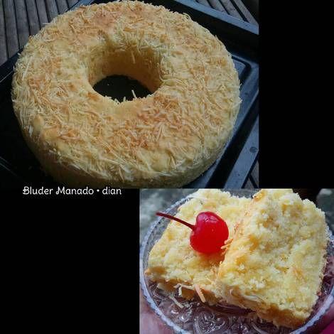 Bluder manado (Cake simple, irit, gampang, enak)