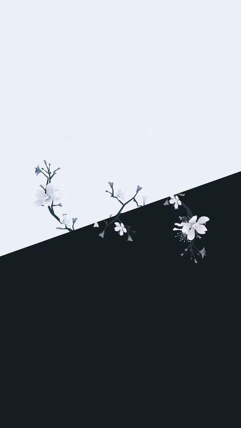 Wallpaper Simple Flores 64 Super Ideas Black Wallpaper Dark Wallpaper Download Cute Wallpapers